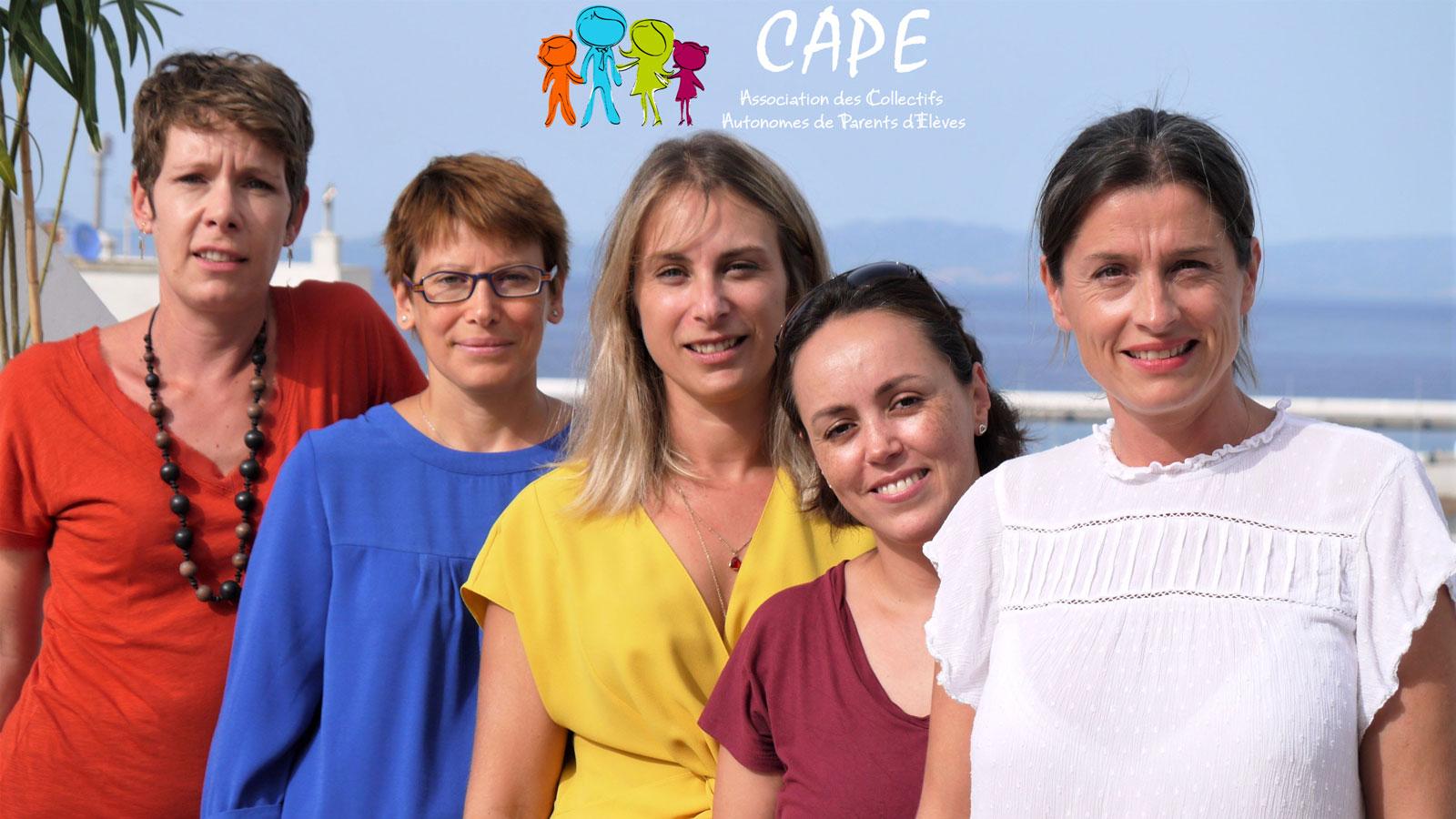 Représentants des parents d'élèves : choisissons le CAPE pour Berchet et Regnault