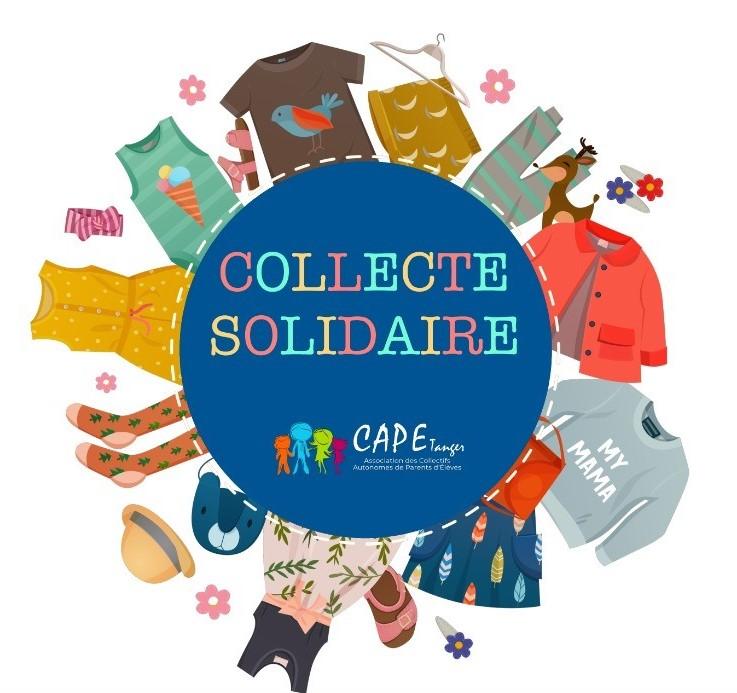 Collecte solidaire Regnault-CAPE Tanger