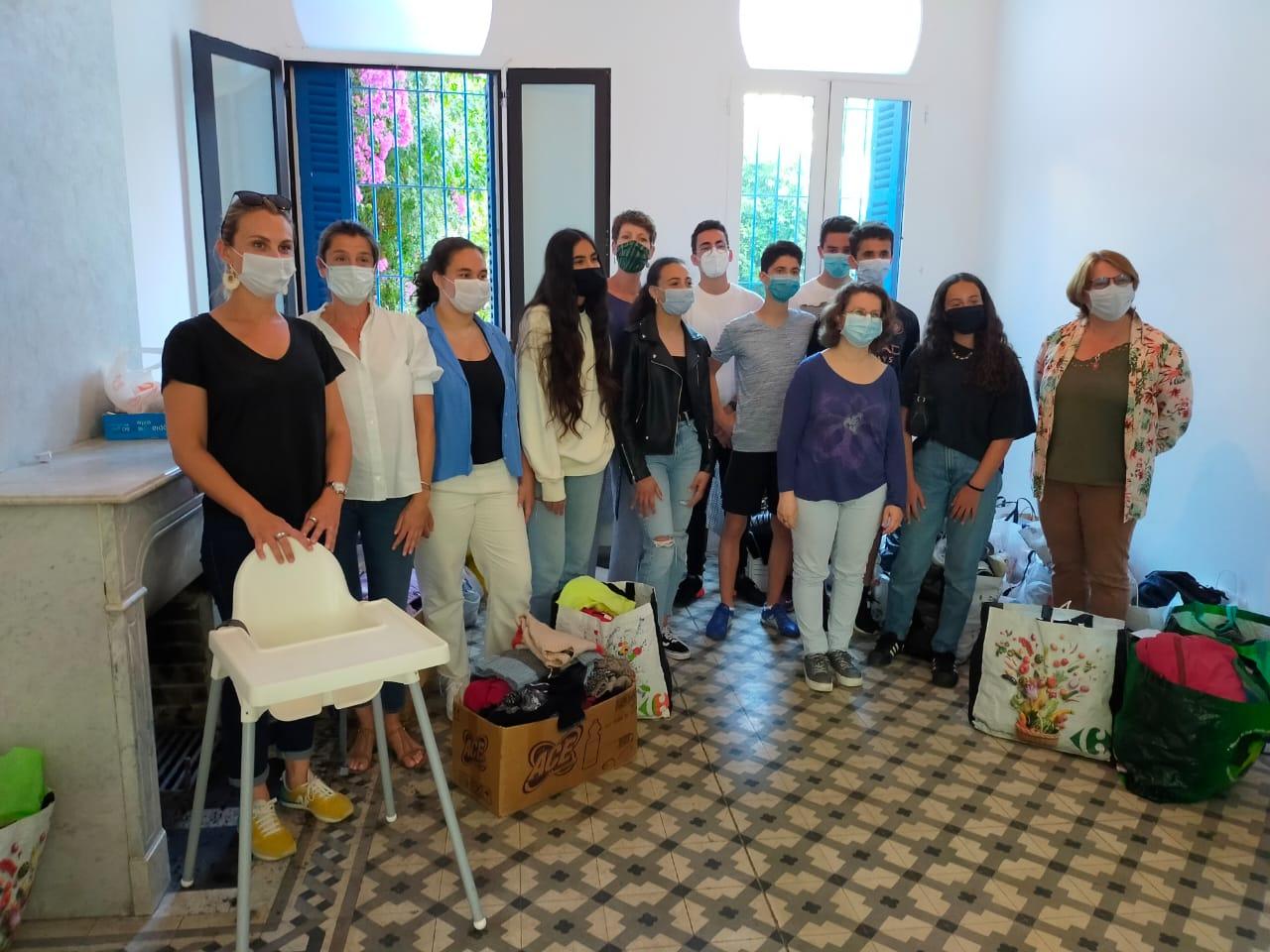 Bilan de la collecte solidaire Regnault-CAPE Tanger